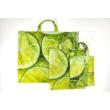 """""""Lime"""" 3db-os textil táska szett"""