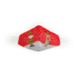 Manó-Réni piros textil szájmaszk L-es méret