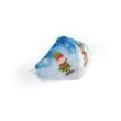 Manó-Réni kék textil szájmaszk S-es gyerek méret