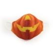 Halloween tökfej fogatlan textil szájmaszk XL-es méret