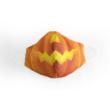 Halloween tökfej cikkcakk textil szájmaszk L-es méret