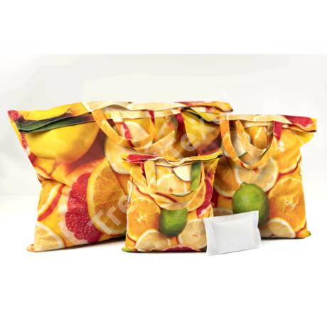 """""""Citrus"""" 3db-os textil táska szett"""