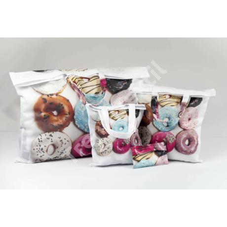 """""""Donut"""" 3db-os textil táska szett"""