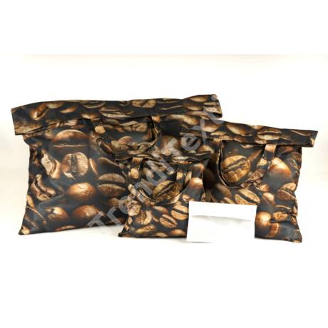 """""""Kávé"""" 3db-os textil táska szett"""