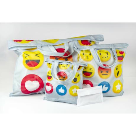 """""""Like"""" 3db-os textil táska szett"""