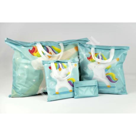 """""""Unikornis"""" 3db-os textil táska szett"""