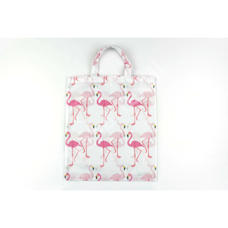 """""""Flamingó"""" 1db-os nagy textil táska"""