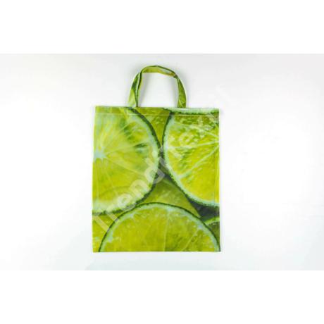 """""""Lime"""" 1db-os nagy textil táska"""