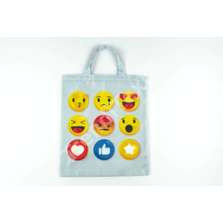 """""""Smile1"""" 1db-os közepes textil táska"""