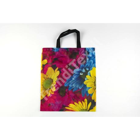 """""""Virág"""" 1db-os közepes textil táska"""