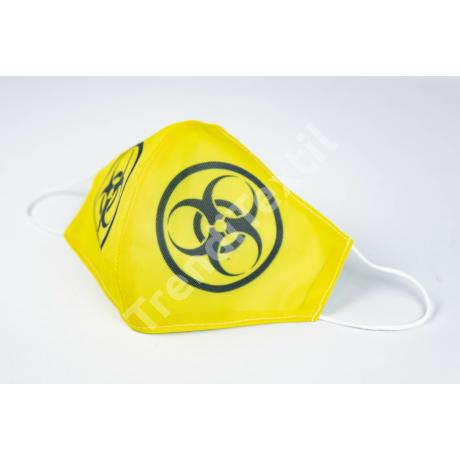Biohazard textil szájmaszk XL-es méret